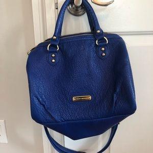 Blue Steve Madden Bag, Green Interior
